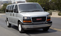 2016 GMC Savana, Front quarter view. Copyright General Motors., exterior, manufacturer