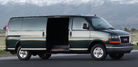 2016 GMC Savana Cargo, Front quarter view. Copyright General Motors., exterior, manufacturer, gallery_worthy
