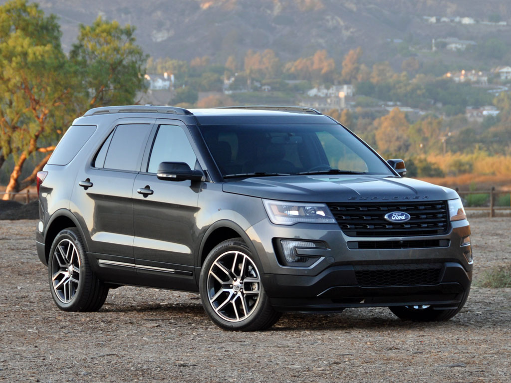 2016 Ford Explorer Overview Cargurus 2015 Bronco Interior
