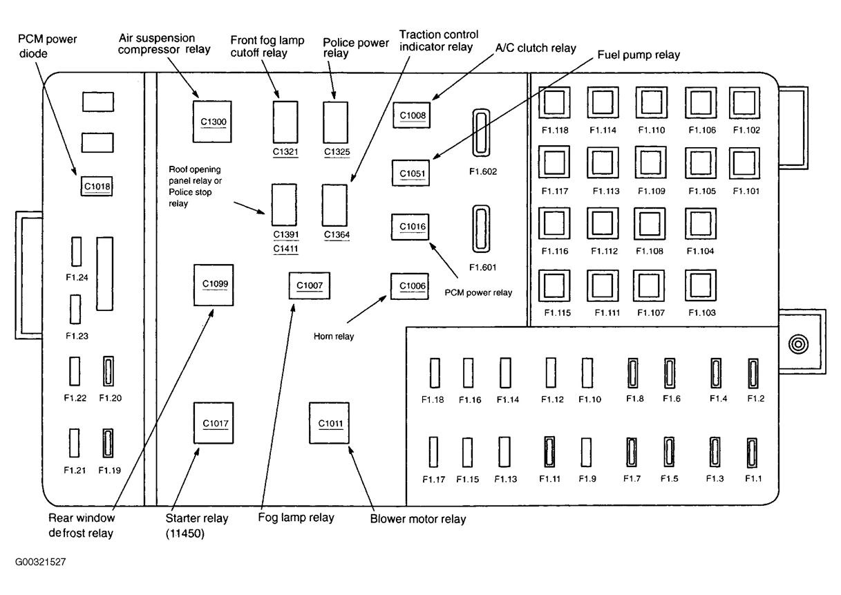 location besides 2004 mercury marauder fuse box diagram also 2004 rh  abetter pw 1964 Mercury Marauder