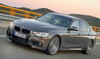 2016 BMW 3 Series, Front-quarter view