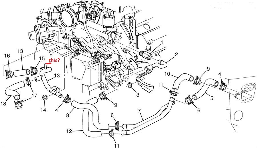 Cadillac Engine Cooling Diagram - Example Electrical Wiring Diagram