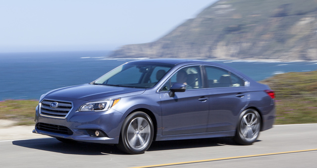 2016 Subaru Legacy, Front quarter view, exterior, manufacturer, gallery_worthy