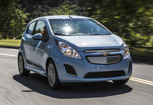 2016 Chevrolet Spark EV, Front quarter view. Copyright General Motors., exterior, manufacturer