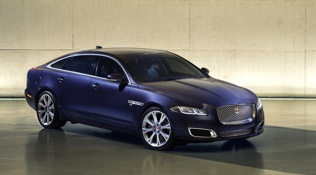 2016 Jaguar XJ-Series, Front quarter view, exterior, manufacturer, gallery_worthy