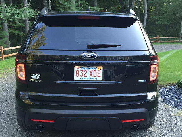 picture of 2014 ford explorer sport 4wd exterior. Cars Review. Best American Auto & Cars Review