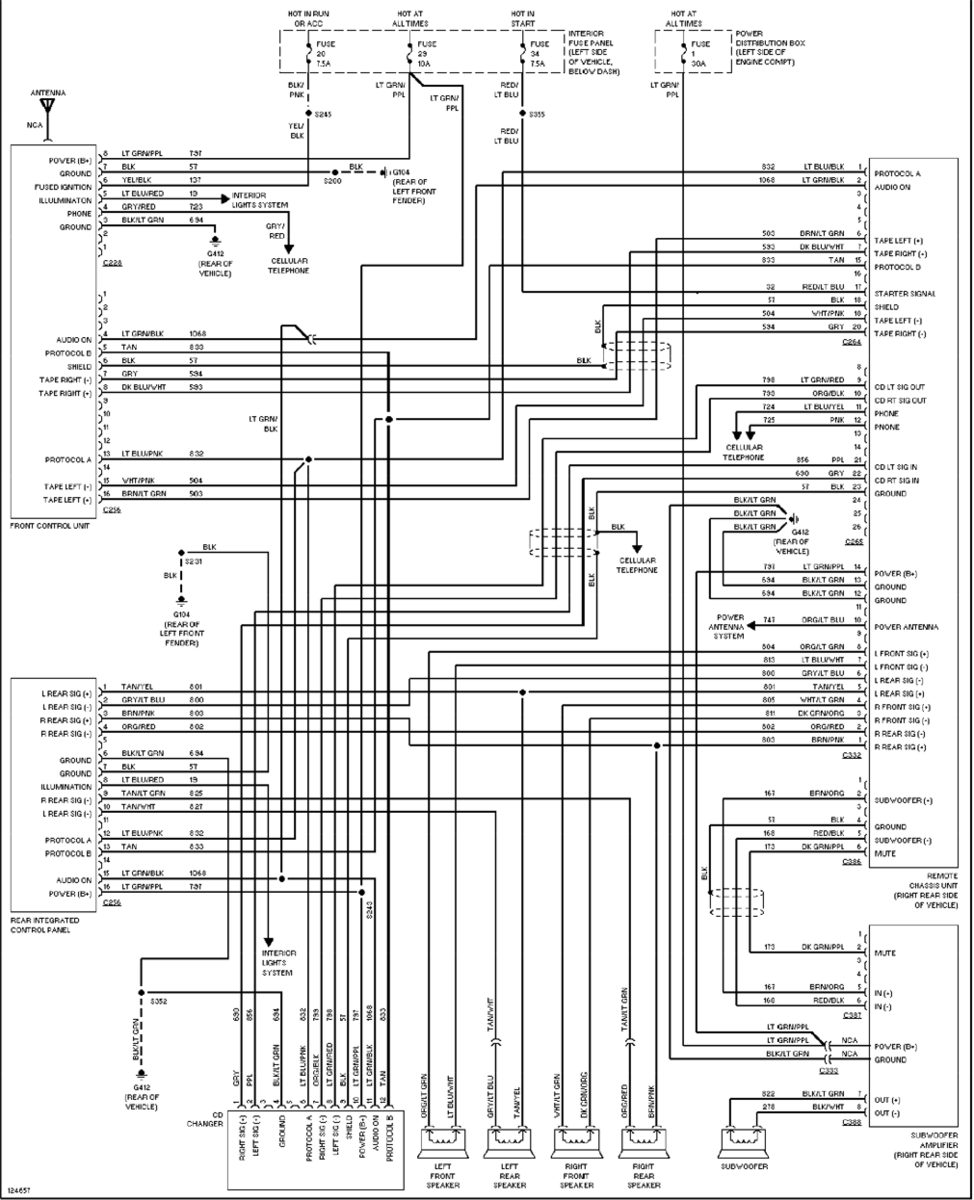 1997 ford explorer stereo wiring diagram with Discussion T30485 Ds680345 on 94 Ranger 4x4 Wiring Diagram furthermore 1997 Mercury Mountaineer Radio Wiring Diagram further Discussion T30485 ds680345 moreover RepairGuideContent in addition Wiring Diagram For 2004 Explorer.