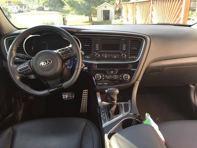 Picture Of 2014 Kia Optima Sx Turbo Interior