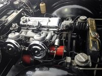 Picture of 1965 Triumph TR4A, engine