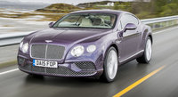 2016 Bentley Continental GT, Front quarter view, exterior, manufacturer
