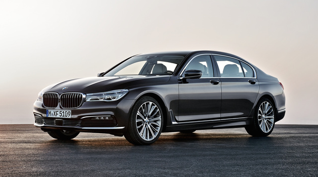 2016 BMW 7 Series, Front quarter view, exterior, manufacturer