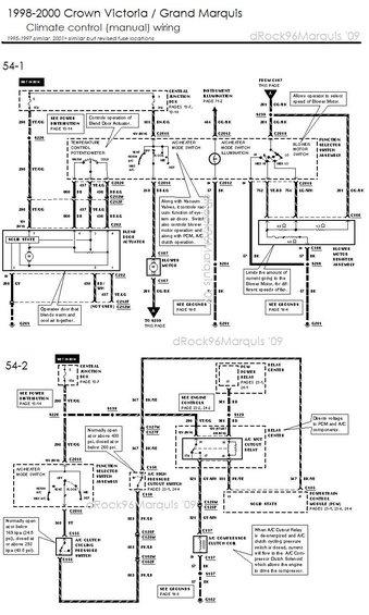 mercury grand marquis questions 1996 mercury grand marquis hvac wiring diagram auto