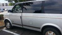 1995 GMC Safari 3 Dr SLT Passenger Van Extended, Greypig, exterior