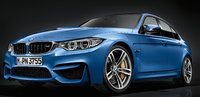 2016 BMW M3, Front quarter view, exterior, manufacturer, gallery_worthy