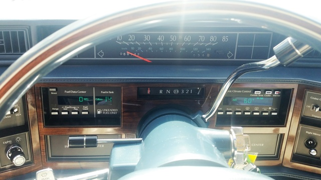Picture of 1988 Cadillac DeVille Base Coupe, interior
