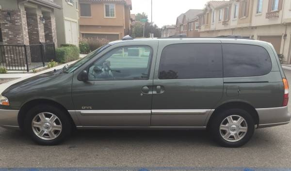 Picture of 2002 Mercury Villager 4 Dr Estate Passenger Van