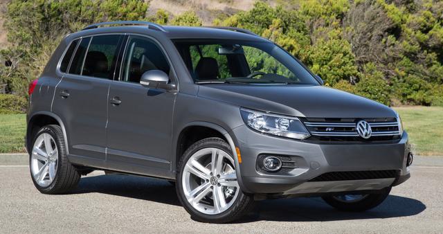 2016 Volkswagen Tiguan, Front quarter view., exterior, manufacturer