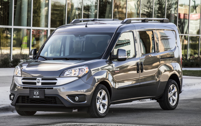 2016 Ram ProMaster City, Front quarter view., exterior, manufacturer, gallery_worthy