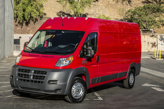 2016 Ram ProMaster, Front-quarter view., exterior, manufacturer, gallery_worthy