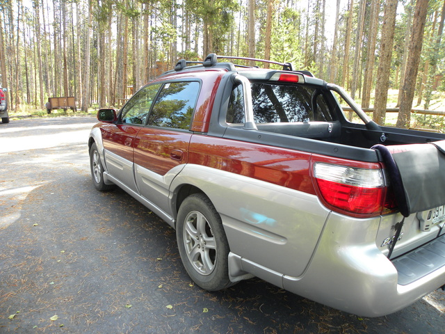 picture of 2003 subaru baja sport exterior. Black Bedroom Furniture Sets. Home Design Ideas