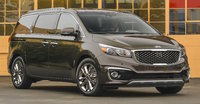 2016 Kia Sedona, Front-quarter view., exterior, manufacturer, gallery_worthy