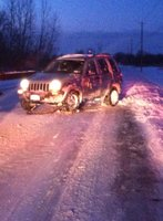 2004 Jeep Liberty Limited 4WD, 3 quarts of oil, a mirror and a gas door cover later, still a great little Jeep