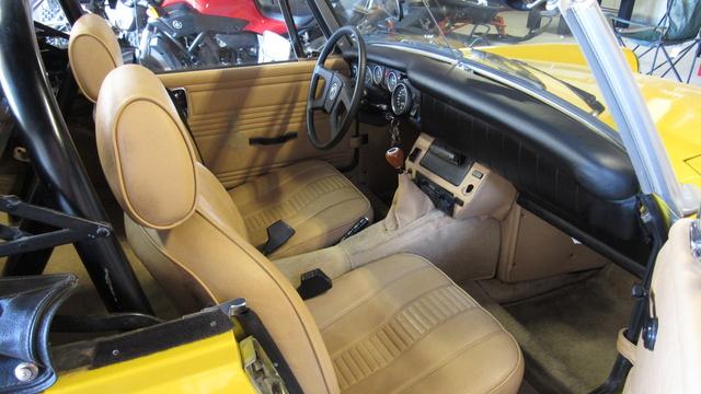 Picture of 1978 MG Midget, interior