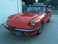 1984 Alfa Romeo Spider Picture Gallery