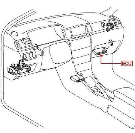Ecu Wiring Diagram On 2002 Toyota Camry