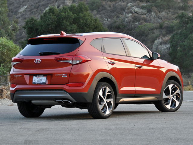 2016 Hyundai Tucson Crossover Review | Digital Trends |Orange Hyundai Tucson 2016