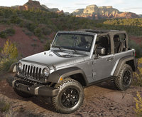2016 Jeep Wrangler, Front-quarter view., exterior, manufacturer, gallery_worthy