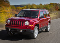 2016 Jeep Patriot, Front-quarter view., exterior, manufacturer