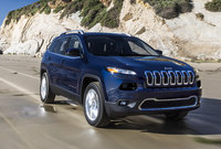 2016 Jeep Cherokee, Front-quarter view., exterior, manufacturer, gallery_worthy