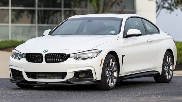 2016 BMW 4 Series Front Quarter View Exterior Manufacturer Gallery Worthy
