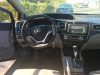 Picture of 2013 Honda Civic Hybrid w/ Leather and Nav, interior