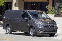 2016 Mercedes-Benz Metris Cargo, Front-quarter view., exterior, manufacturer, gallery_worthy