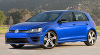 2016 Volkswagen Golf R, Front-quarter view, exterior, manufacturer, gallery_worthy