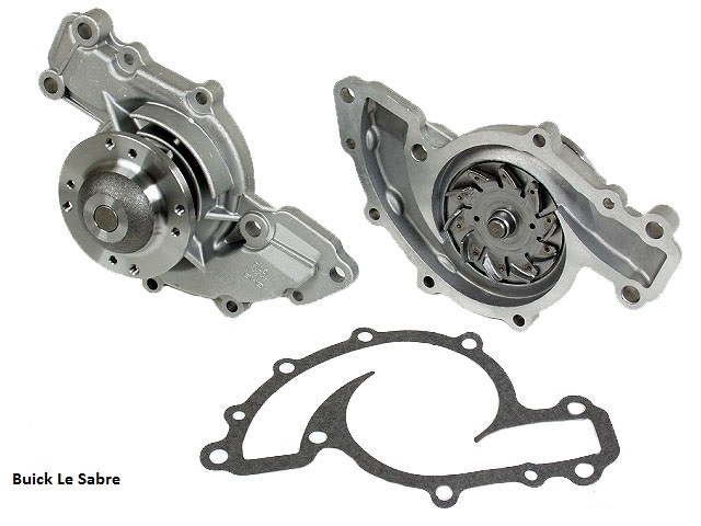 Pic X on 2002 Buick Lesabre Water Pump