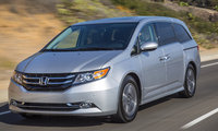 2016 Honda Odyssey, Front-quarter view., exterior, manufacturer, gallery_worthy