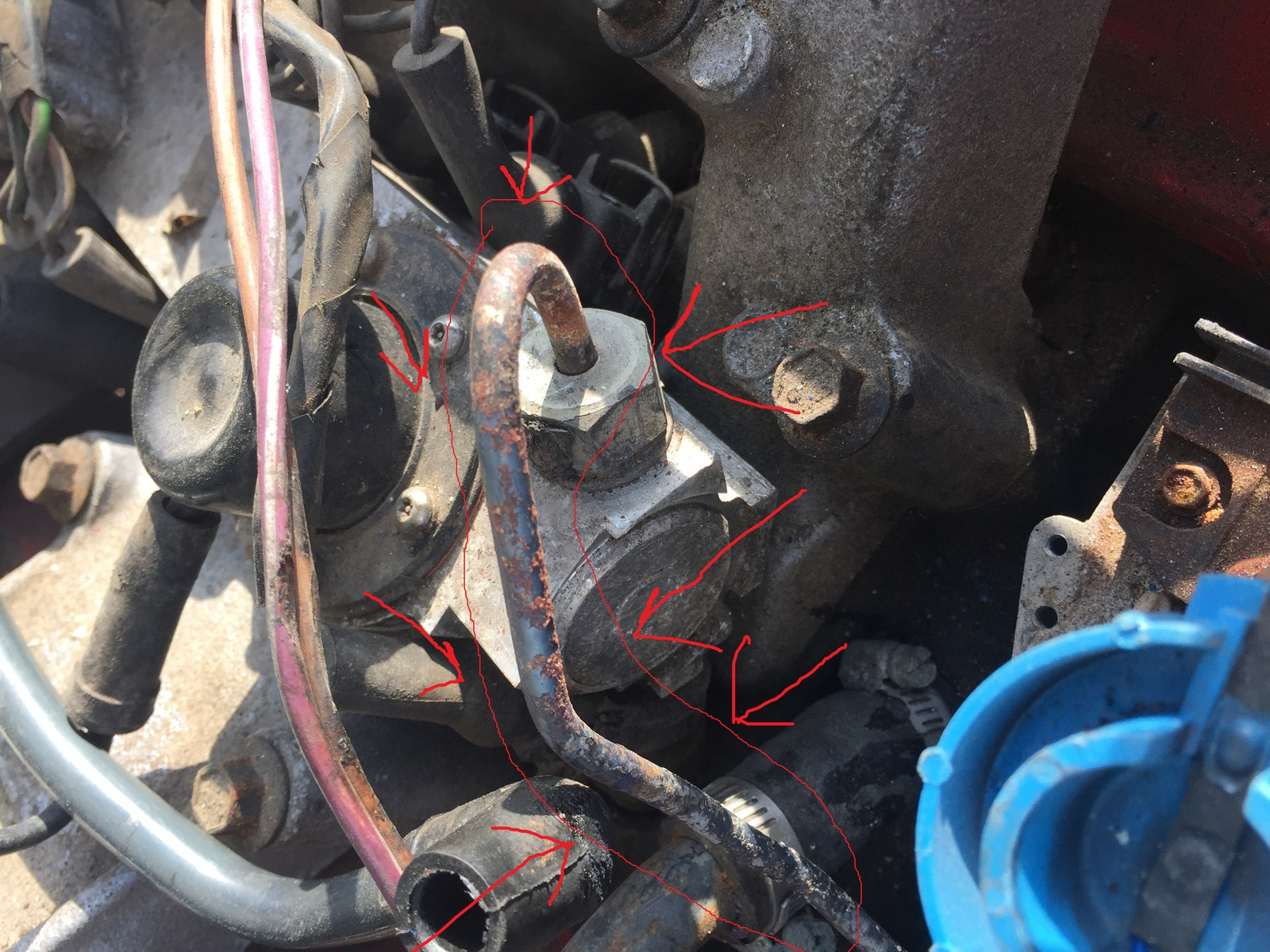 Pontiac Fiero Questions What Is Going On Here Cargurus 1986 Toyota Mr2 Distributor Wiring