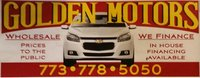 Golden Motors Sale logo