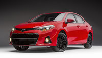 2016 Toyota Corolla, Front-quarter view., exterior, manufacturer, gallery_worthy