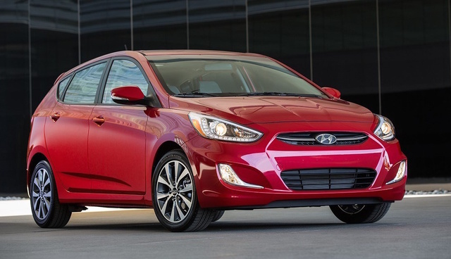 2016 Hyundai Accent, Front-quarter view., exterior, manufacturer, gallery_worthy