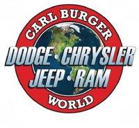 Carl Burger's Dodge Chrysler Jeep World logo