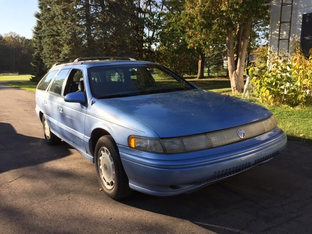 picture of 1995 mercury sable 4 dr ls wagon exterior. Black Bedroom Furniture Sets. Home Design Ideas