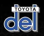Del Toyota logo