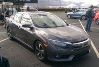 2016 Honda Civic front-quarter view