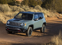 2016 Jeep Renegade, Front-quarter view., exterior, manufacturer