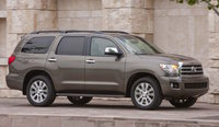 2016 Toyota Sequoia, Front-quarter view., exterior, manufacturer, gallery_worthy