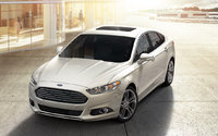 2016 Ford Fusion, Front-quarter view., exterior, manufacturer, gallery_worthy